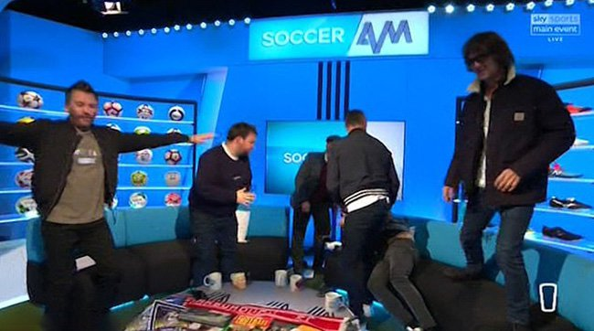 Richard Ashcroft on Soccer AM