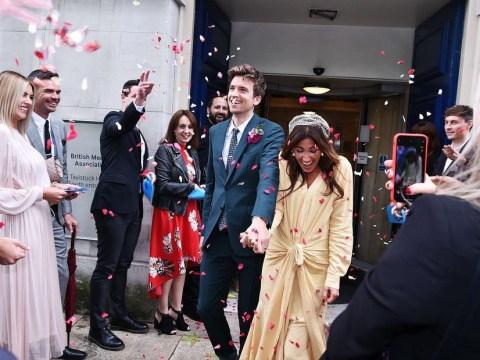 Meet Greg James' wife Bella Mackie as Radio 1 DJ marries journalist girlfriend