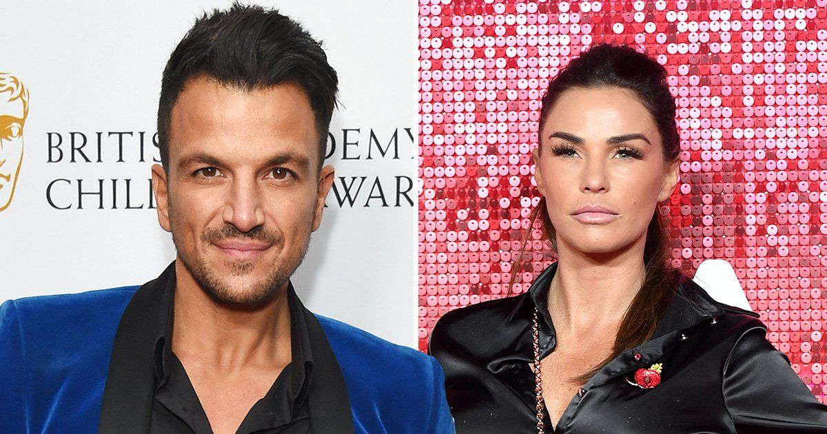 Katie Price calls Peter Andre 'a b****nd' after slamming Kieran Hayler at kids clothing line launch