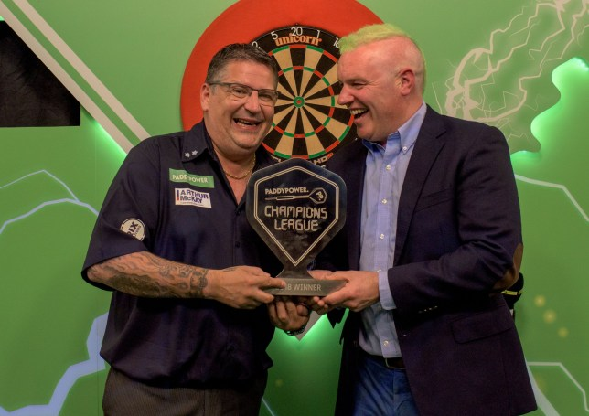 Gary Anderson S Champions League Of Darts Win Takes 2018