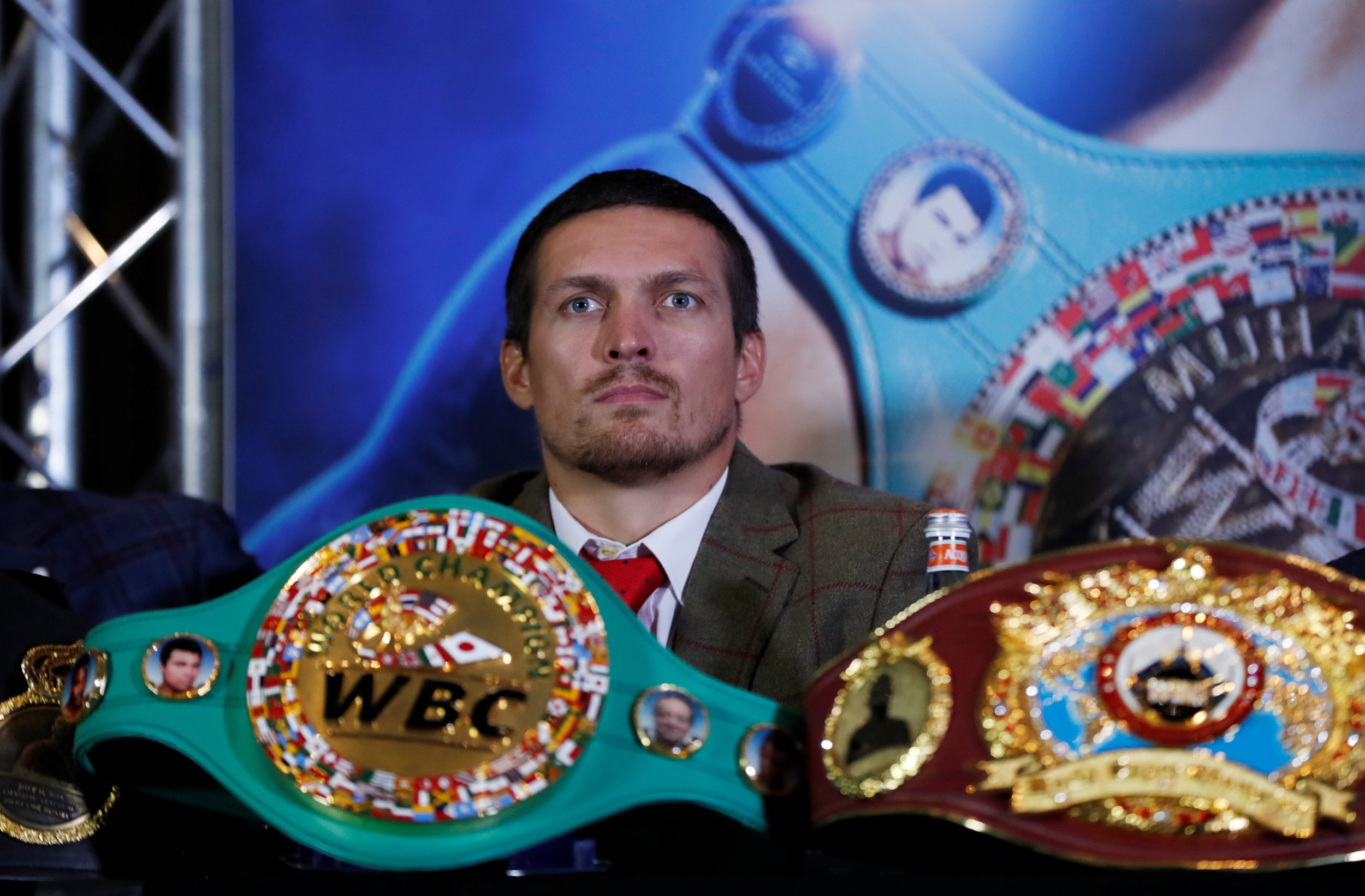 Oleksandr Usyk chose to fight Tony Bellew because Liverpudlian will refuse to quit