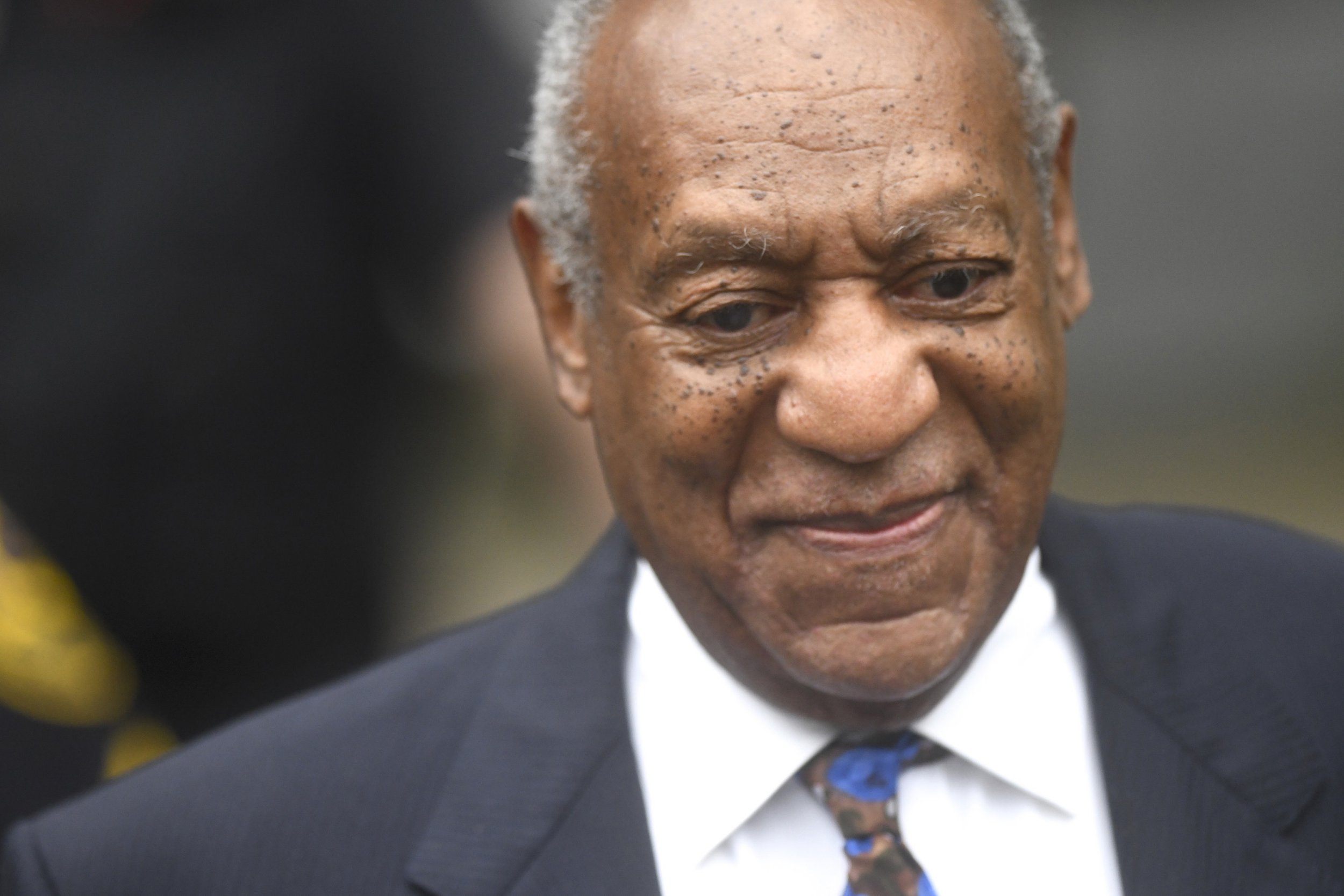 NORRISTOWN, PA - SEPTEMBER 24: Bill Cosby arrives at the Montgomery County Courthouse on the first day of sentencing in his sexual assault trial on September 24, 2018 in Norristown, Pennsylvania. In April, Cosby was found guilty on three counts of aggravated indecent assault for drugging and sexually assaulting Andrea Constand at his suburban Philadelphia home in 2004. 60 women have accused the 80 year old entertainer of sexual assault. (Photo by Mark Makela/Getty Images)