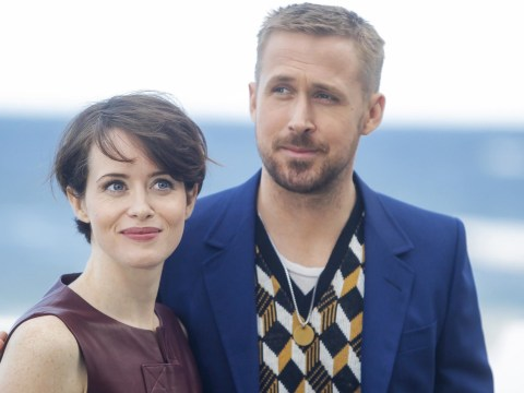 Claire Foy remains a queen as she leads Ryan Gosling on First Man red carpet