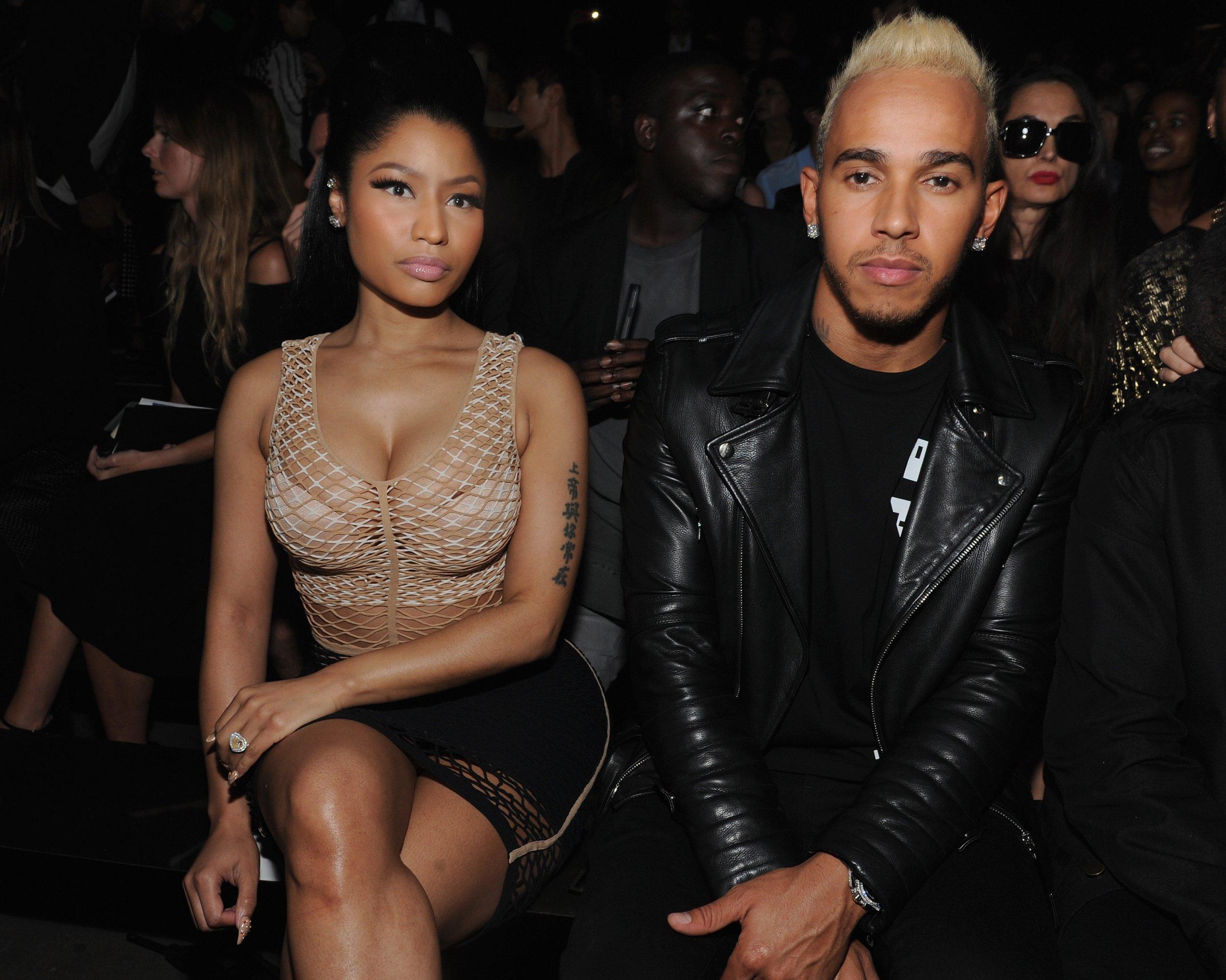 New footage of Nicki Minaj and Lewis Hamilton in Dubai ignites fresh dating rumours