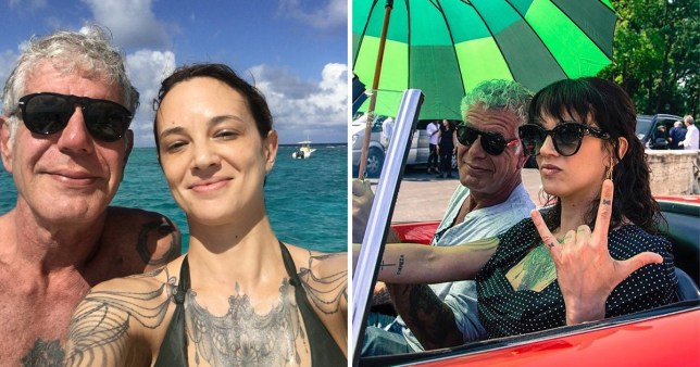 Asia Argento says she and Anthony Bourdain cheated on one another: 'It wasn't a problem for us'