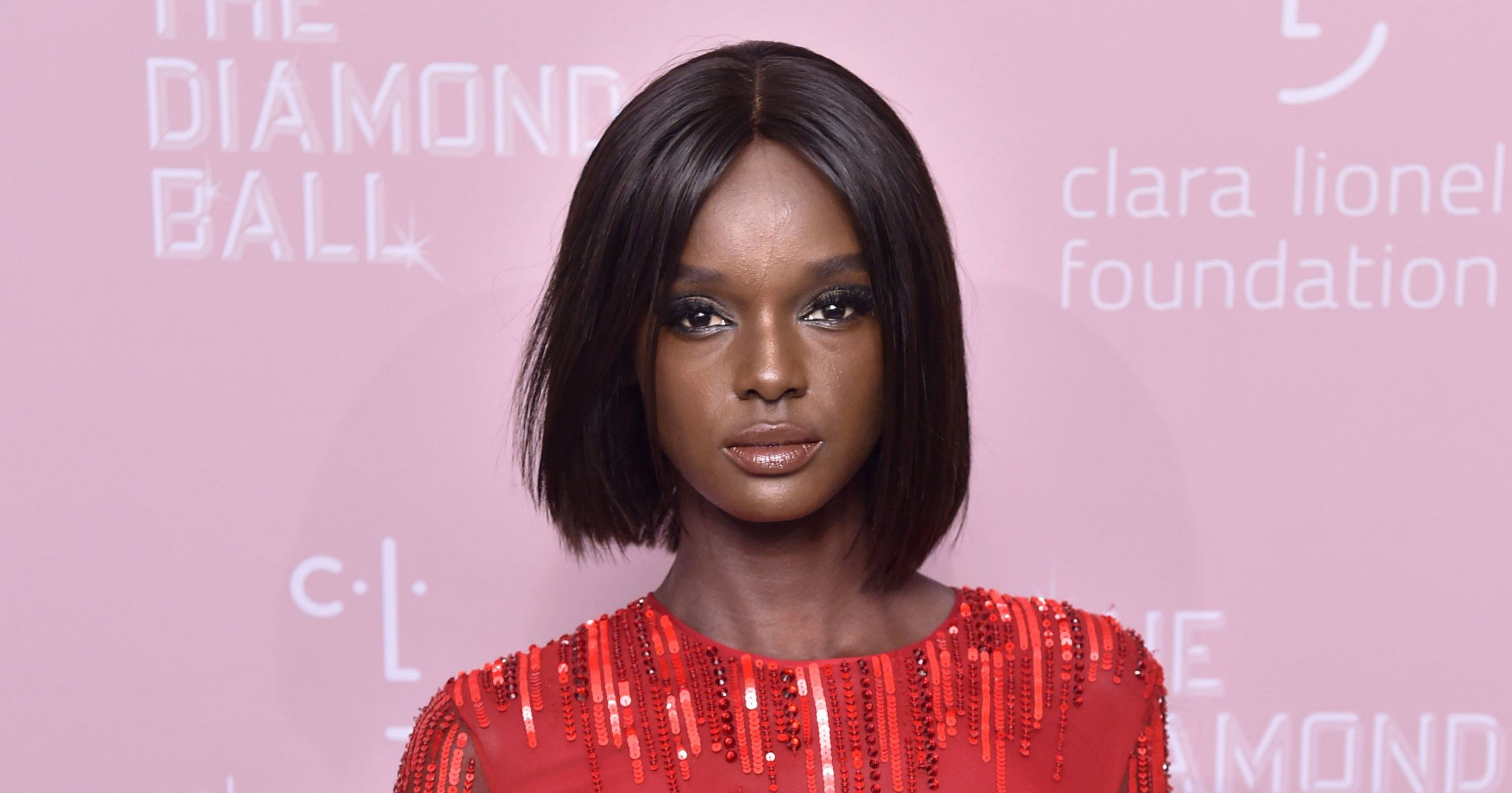 Mandatory Credit: Photo by Stephen Lovekin/Variety/REX (9881505cd) Duckie Thot 4th Annual Clara Lionel Foundation Diamond Ball, Arrivals, New York, USA - 13 Sep 2018 The Clara Lionel Foundation (CLF) was founded in 2012 by Robyn 'Rihanna' Fenty in honor of her grandparents, Clara and Lionel Braithwaite. CLF supports and funds groundbreaking and effective education, health and emergency response programs around the world.