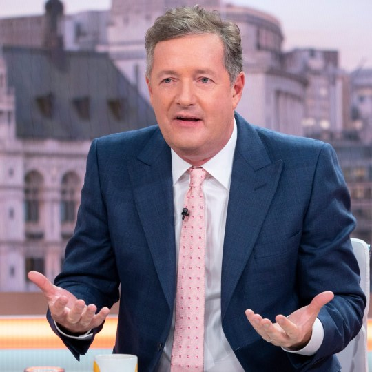 Editorial use only Mandatory Credit: Photo by Ken McKay/ITV/REX/Shutterstock (9846825z) Piers Morgan 'Good Morning Britain' TV show, London, UK - 03 Sep 2018