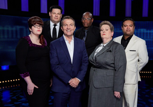 Bradley Walsh and The Chasers on The Chase