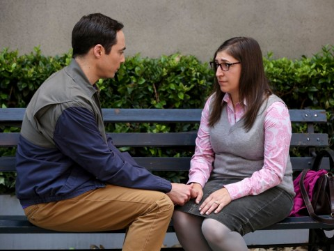 Amy and Sheldon fret about 'scheduled sex' on their honeymoon as The Big Bang Theory final series kicks off