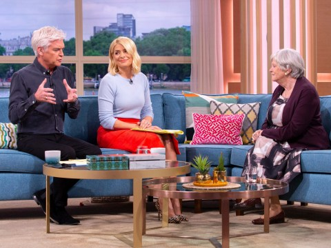 Ann Widdecombe scolds Holly Willoughby for 'interrupting' her during #MeToo debate