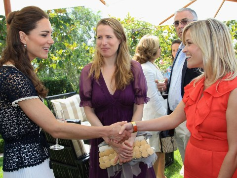 Reese Witherspoon was won over by Kate Middleton's banter during their first meeting