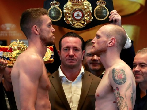 British blockbuster George Groves vs Callum Smith in danger of being lost in the Jeddah desert