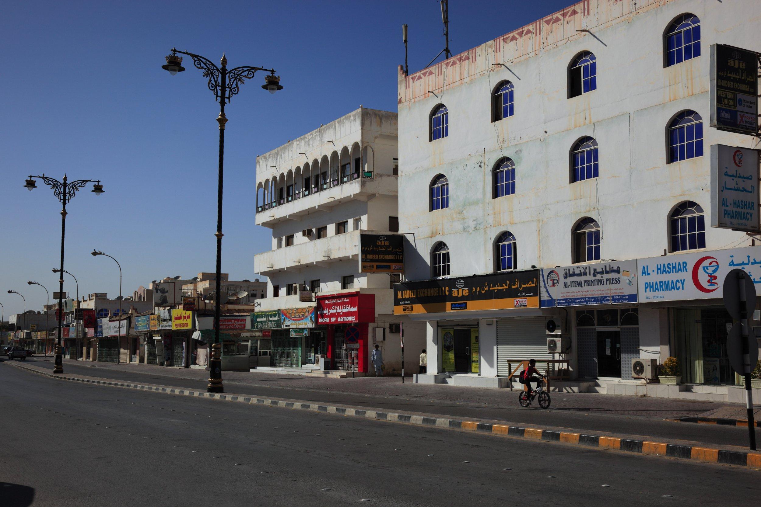 City centre of Salalah, Oman (Photo by: Bildagentur-online/UIG via Getty Images)