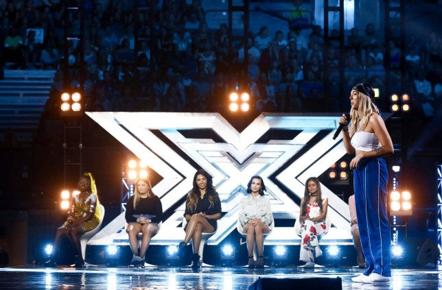 STRICT EMBARGO - NO USE BEFORE 22:05 SATURDAY 29TH SEPTEMBER 2018. EDITORIAL USE ONLY - NO MERCHANDISING Mandatory Credit: Photo by Dymond/Thames/Syco/REX (9903309al) Bella Penfold 'The X Factor' TV show, Series 15, Episode 9, UK - 29 Sep 2018
