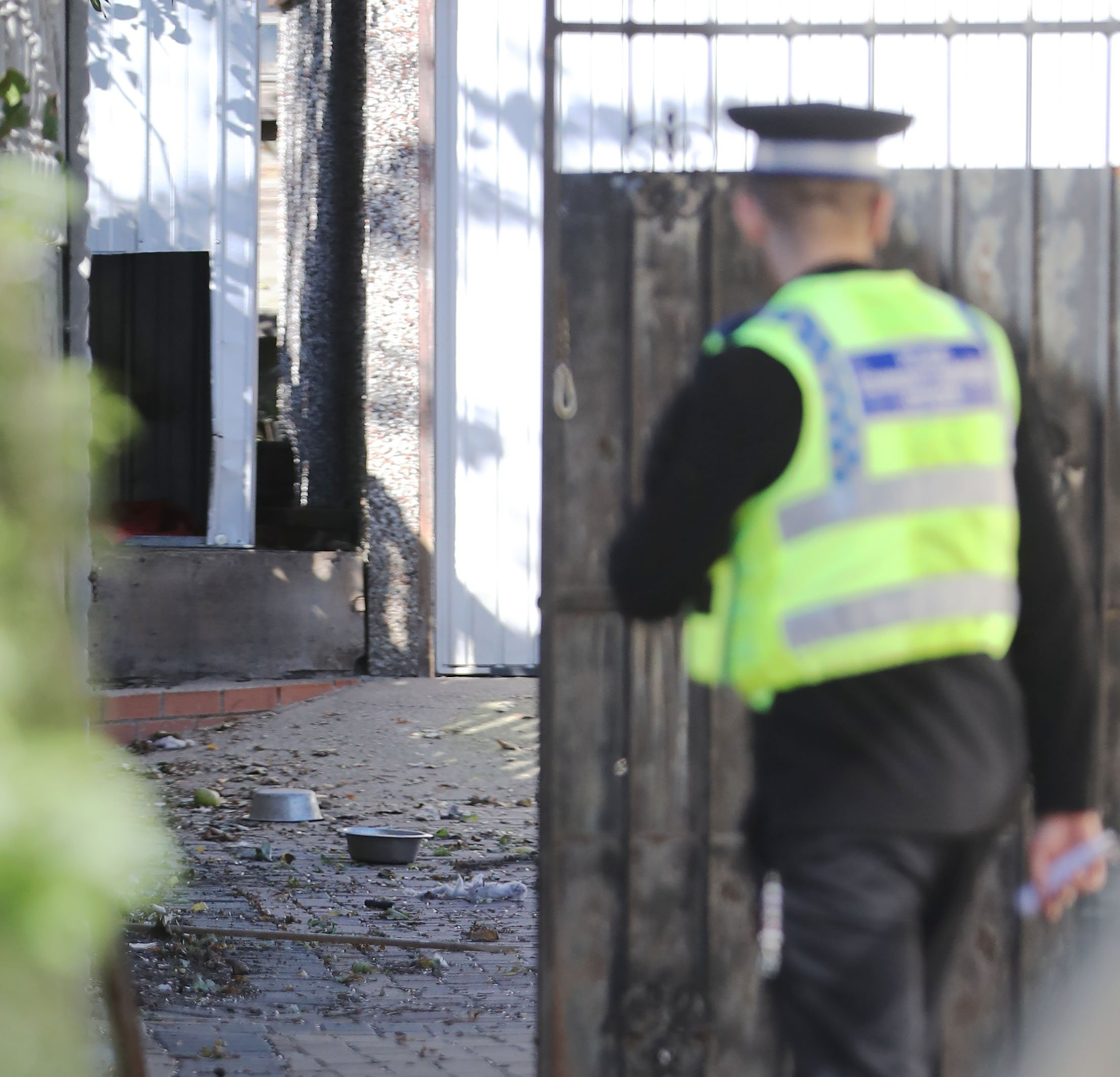 Police officer and two men seriously injured after being mauled by dogs in Leeds