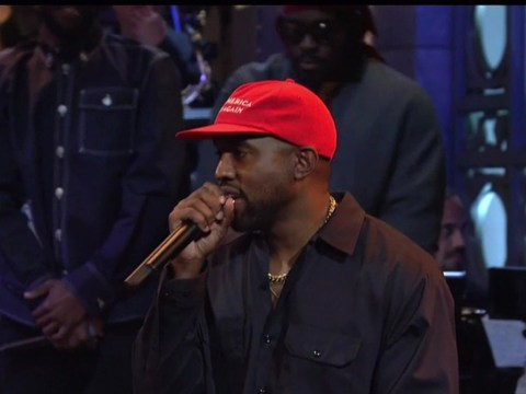 Kanye West claims he was bullied to not wear MAGA hat on Saturday Night Live
