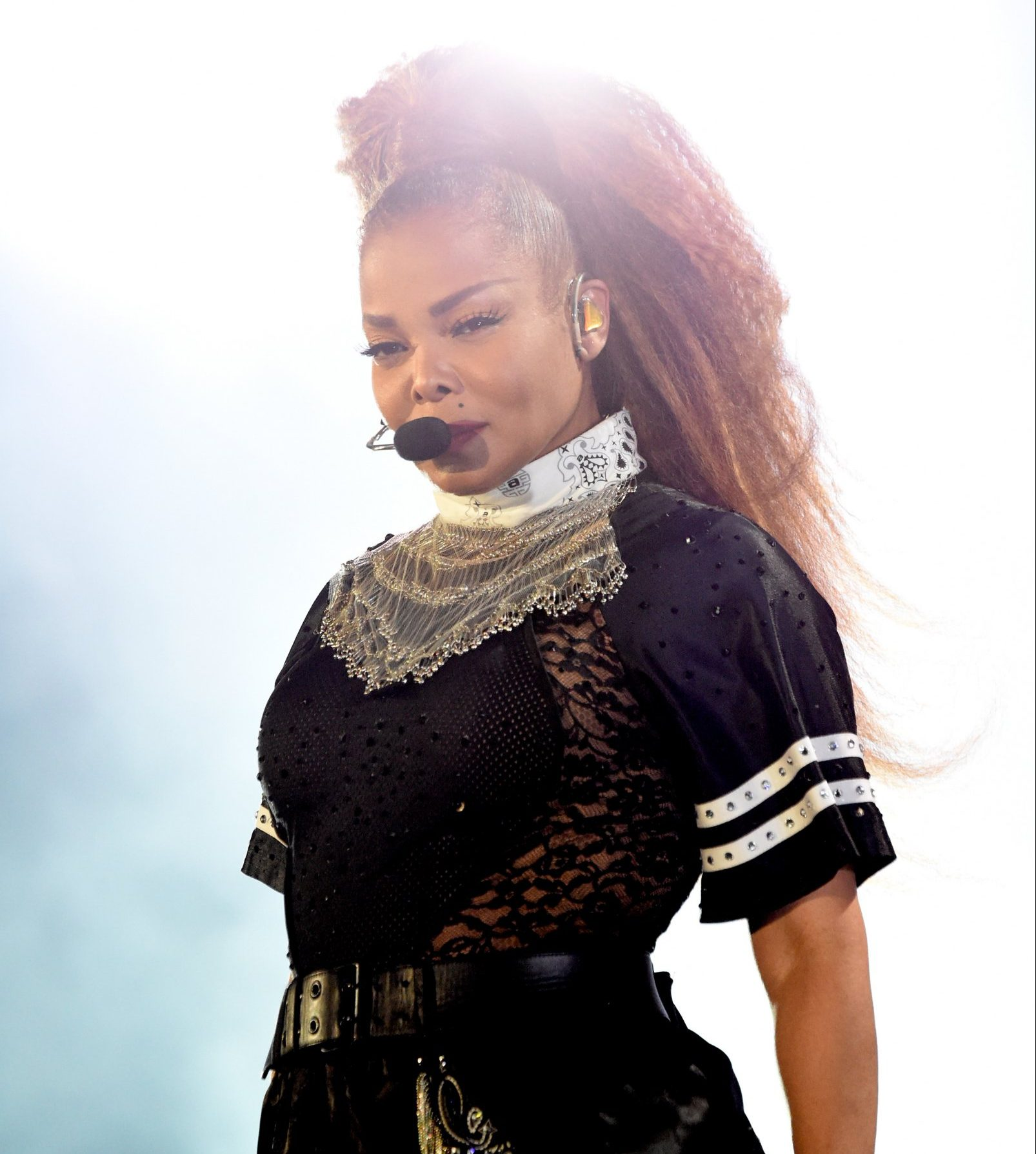 Janet Jackson delivers emotional speech on bigotry and abuse at Global Citizen Festival