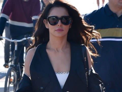 Cheryl shrugs off 'sad and lonely' vibe arriving in Paris for Fashion Week rehearsals ahead of rumoured X Factor return