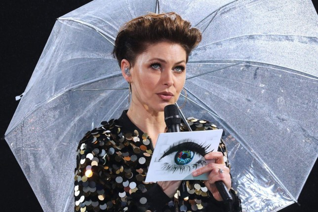 Mandatory Credit: Photo by James Shaw/REX/Shutterstock (9348689t) Emma Willis 'Celebrity Big Brother' TV show, Borehamwood, UK - 30 Jan 2018