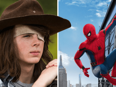 The Walking Dead's Chandler Riggs reveals he auditioned for Spider-Man but never heard back