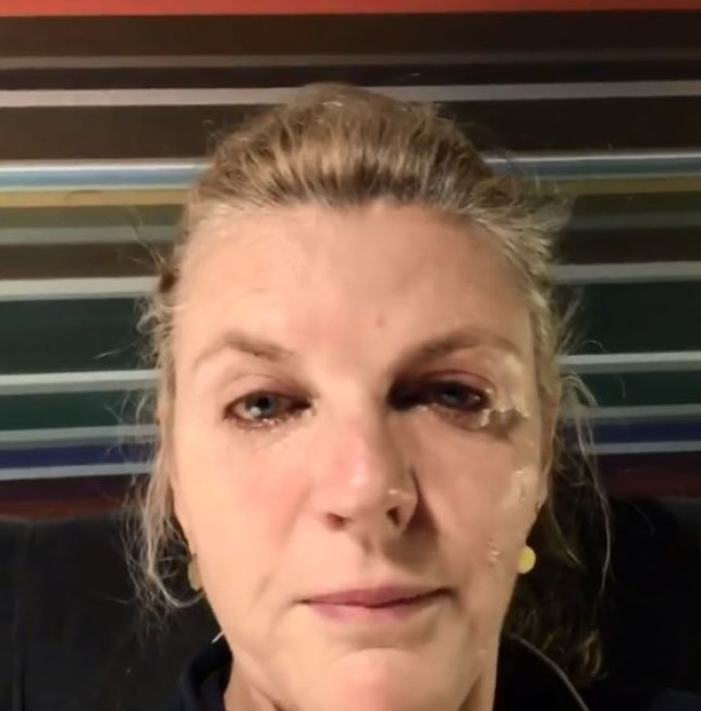 Strictly Come Dancing's Susannah Constantine broke down in tears on Instagram (Picture: Instagram)