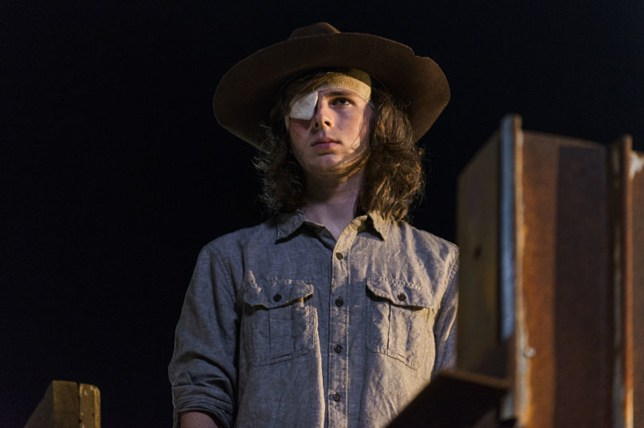 The Walking Dead's Chandler Riggs shares BTS photo of Carl Grimes death with Andrew Lincoln – take a look at your peril