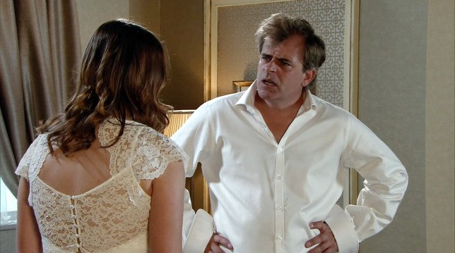 Steve denies it in Coronation Street
