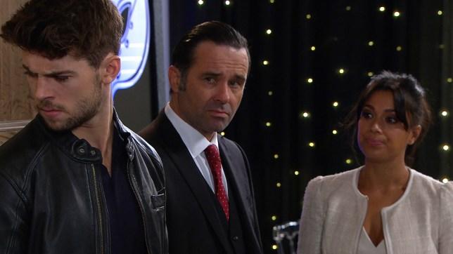 Graham plans against Joe in Emmerdale
