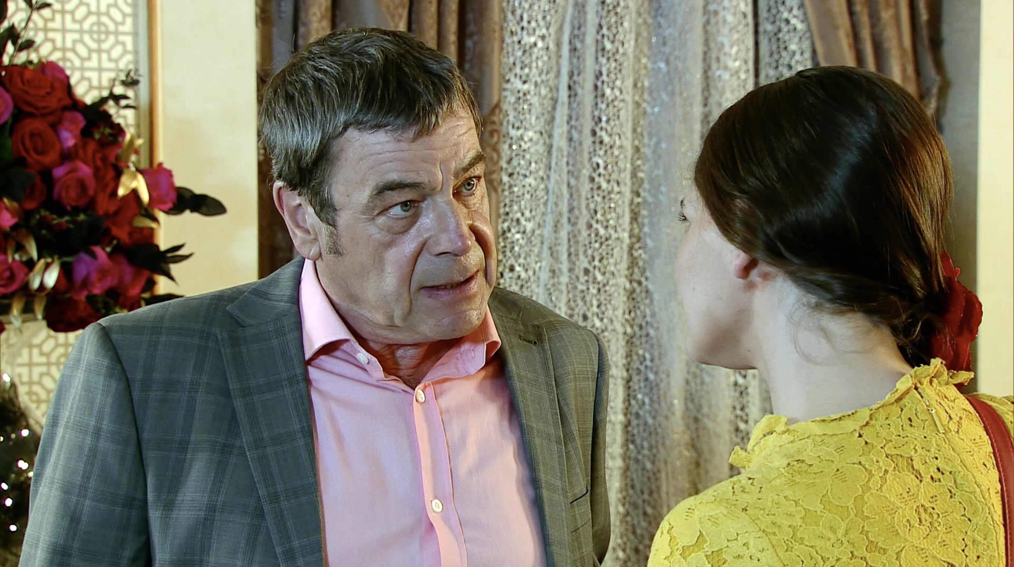 Johnny is caught in Coronation Street