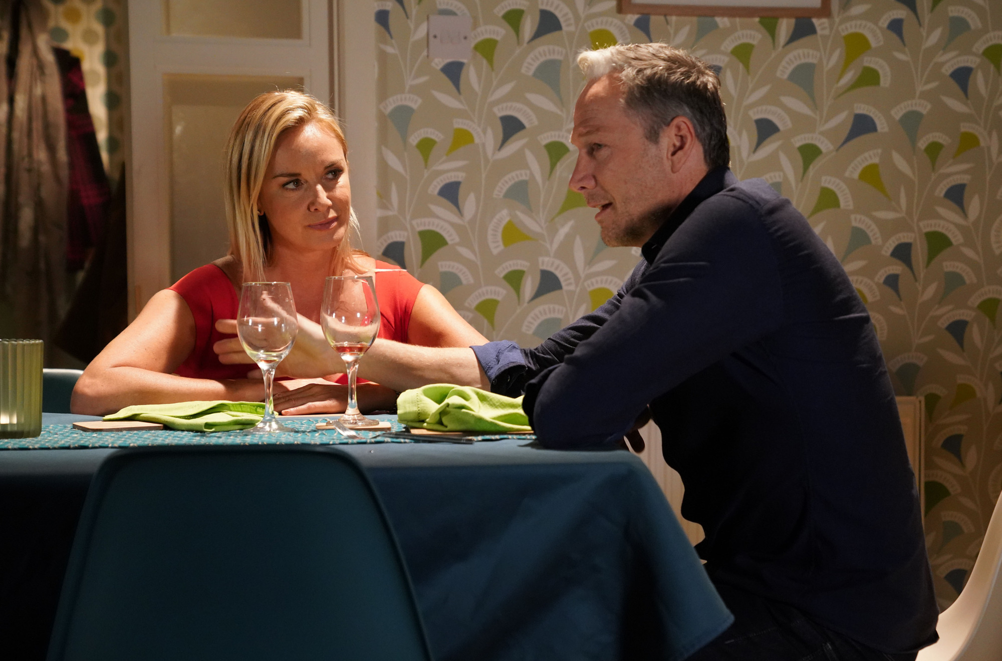 Mel discovers the truth about Ray in EastEnders