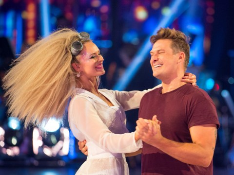Who left Strictly Come Dancing in Movie Week?