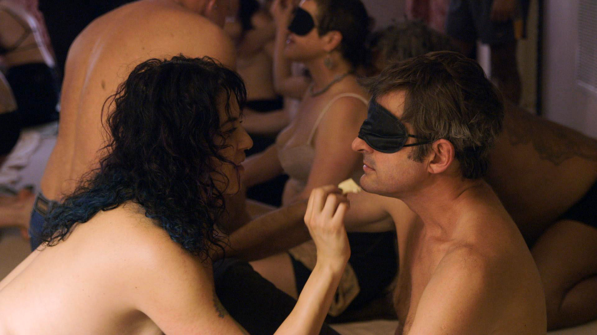 Louis Theroux cut some rather provocative scenes from his polyamory documentary