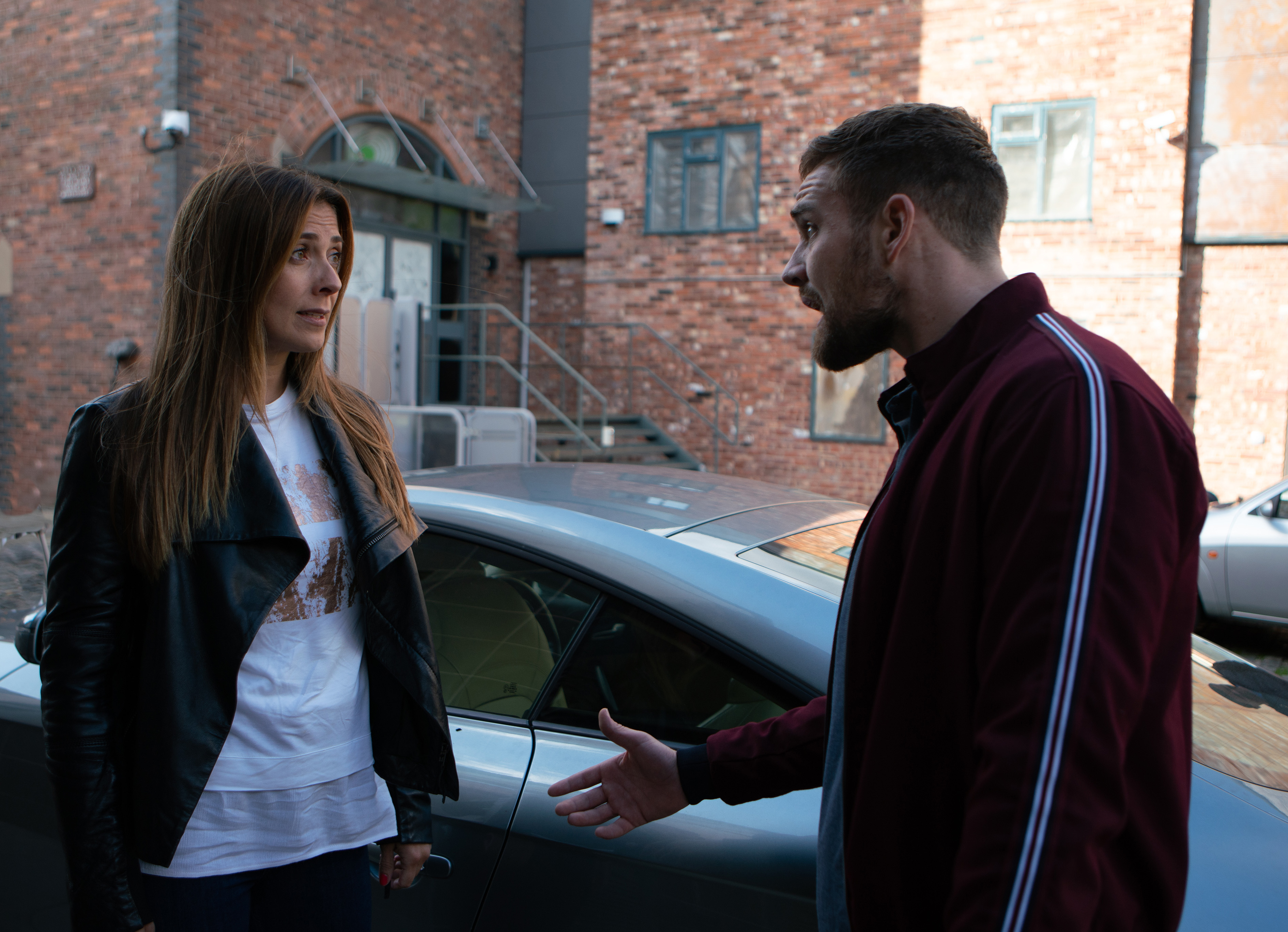 Michelle and Ali in Coronation Street