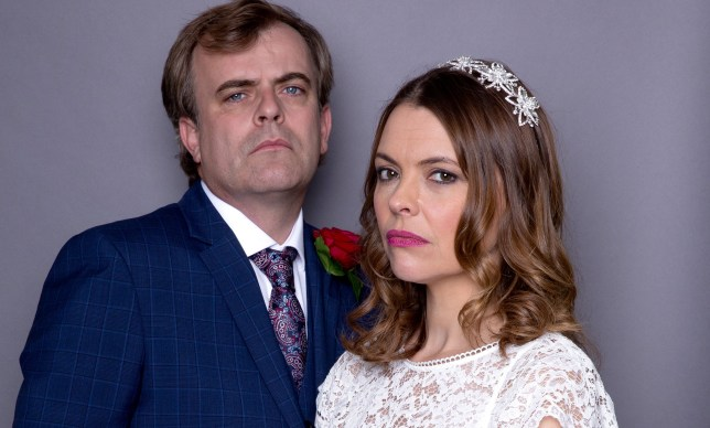Tracy and Steve get married in Coronation Street
