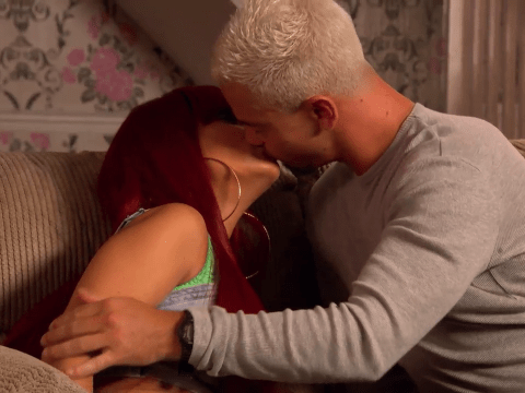 Hollyoaks spoilers: Joel Dexter and Goldie McQueen kiss but what about Cleo?