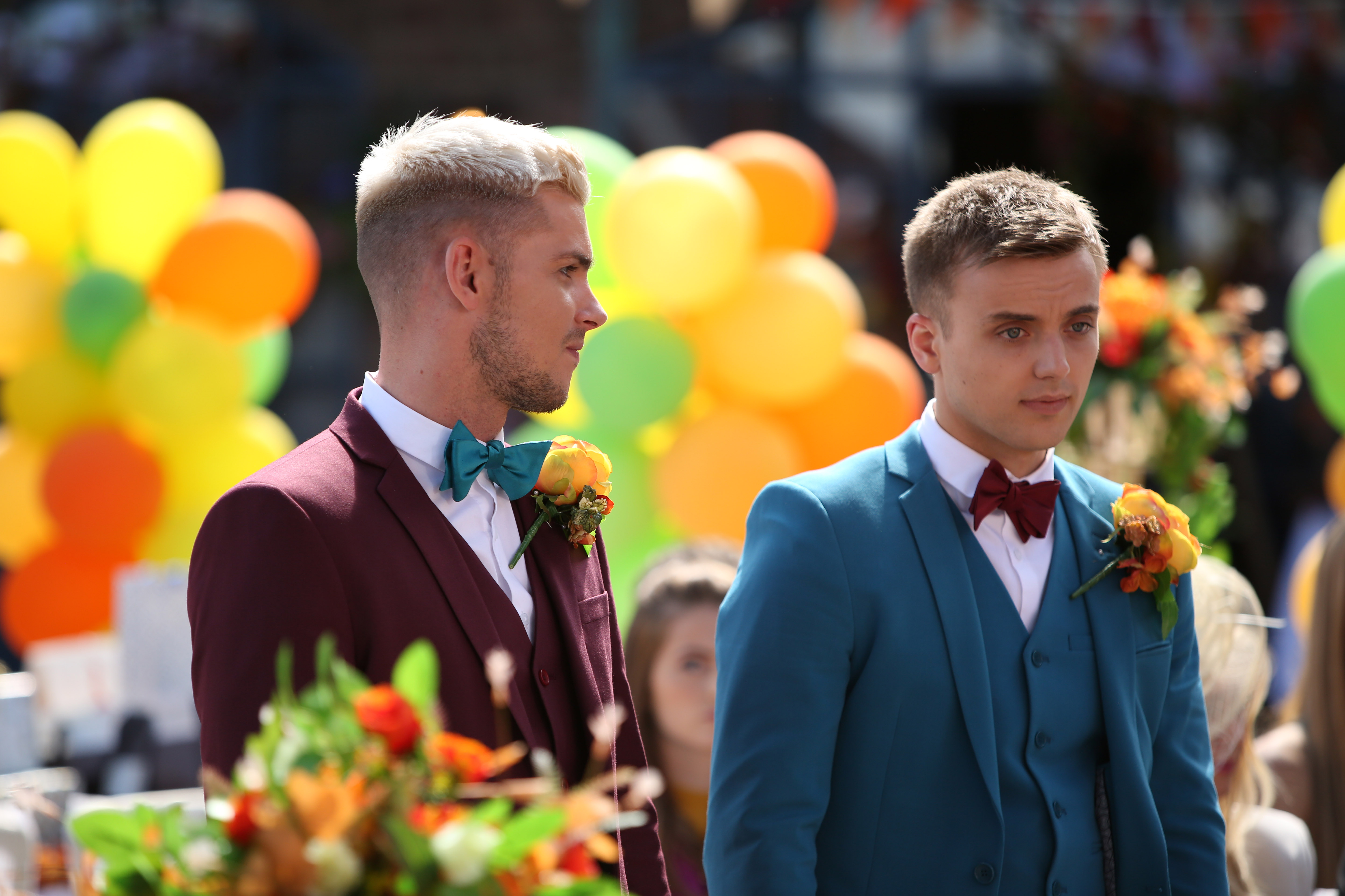 Hollyoaks spoilers: All over for Ste Hay and Harry Thompson? Kieron Richardson and Parry Glasspool reveal all