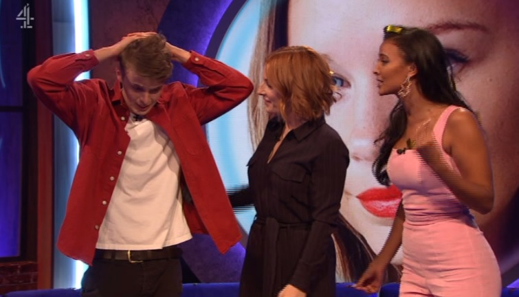 Alex was named winner of The Circle (Picture: Channel 4)