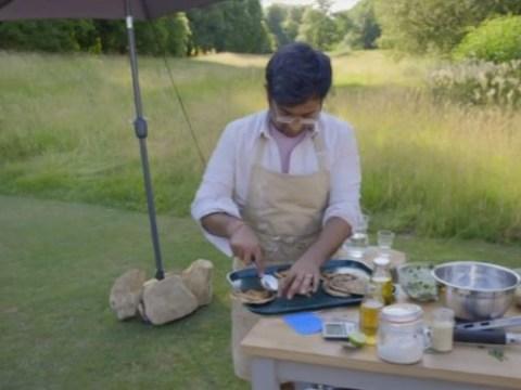 Even Great British Bake Off winners weren't impressed with that campfire pitta bread challenge