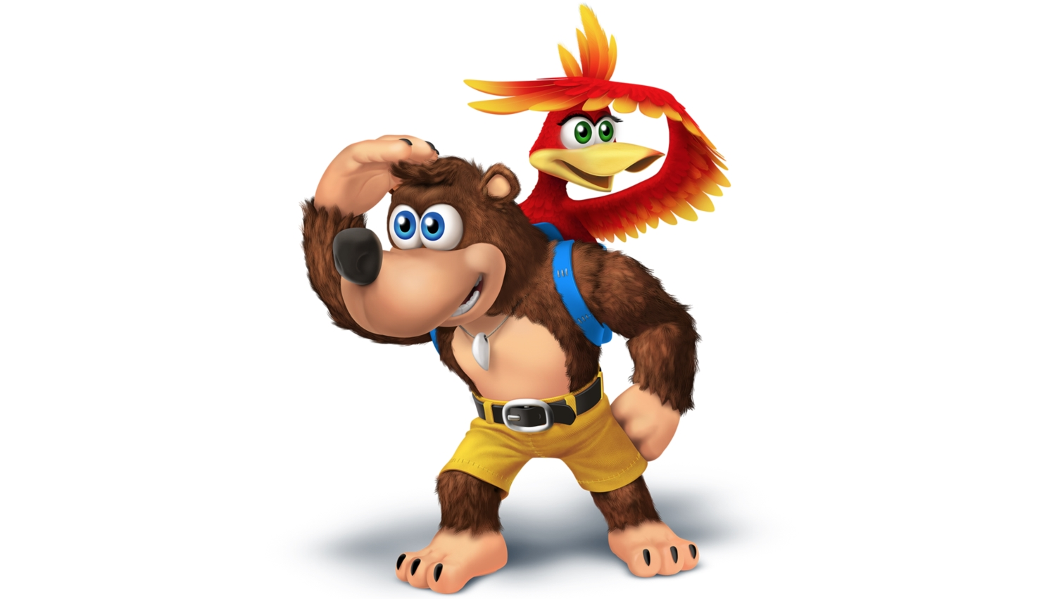Are Banjo and Kazooie looking to make their Smash debut? (pic: Omni Jacalantern)