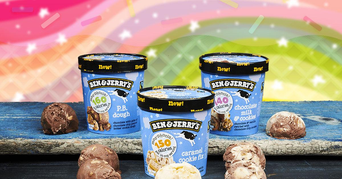 Ben & Jerry's launch four new low-calorie options