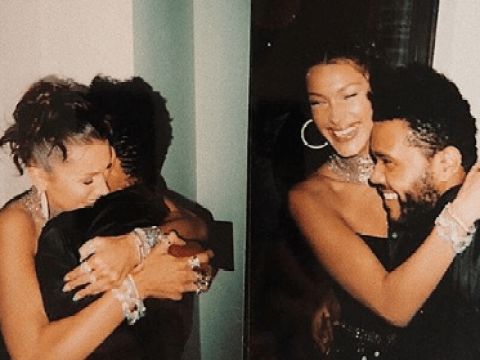 Bella Hadid and The Weeknd have never looked so loved-up in cute birthday snaps