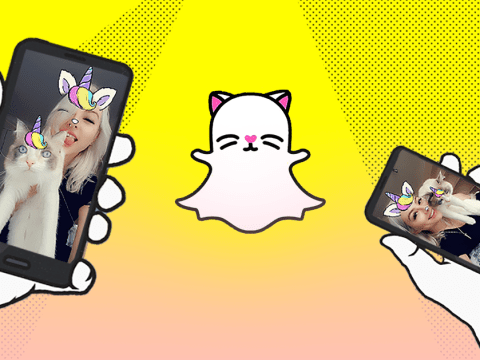 Snapchat just introduced new selfie filters for your cat