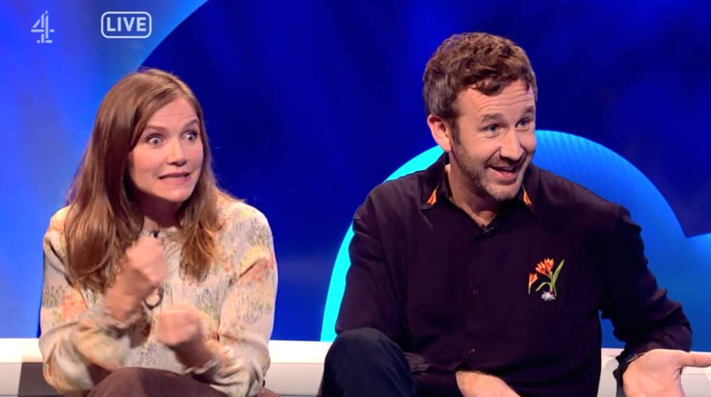 Viewers in hysterics over 'drunk' Chris O'Dowd on The Last Leg