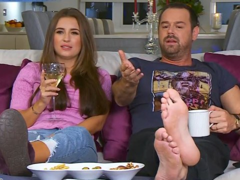 Danny Dyer's 'dirty' feet freak out Celebrity Gogglebox viewers as he teams up with daughter Dani