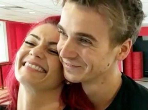 Joe Sugg and Dianne Buswell deny 'snogging like teenagers' on Strictly's Blackpool night out
