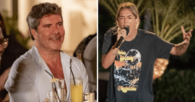 X Factor contestant Bella's poignant LGBT tattoo moves Simon Cowell at Judges' Houses