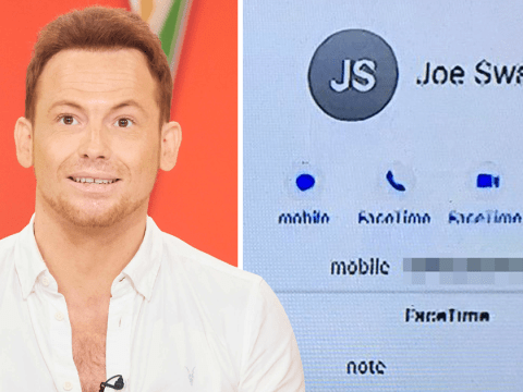 Loose Women accidentally reveal Joe Swash's mobile phone number in epic gaffe