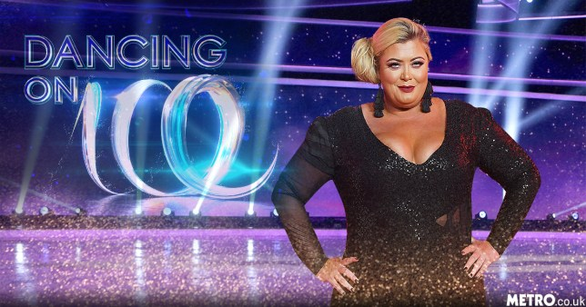 Gemma Collins dancing on ice Picture; REX/getty