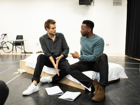 Douglas Booth discusses 'mentally exhausting, tender and heartbreaking' erotic thriller role in the West End