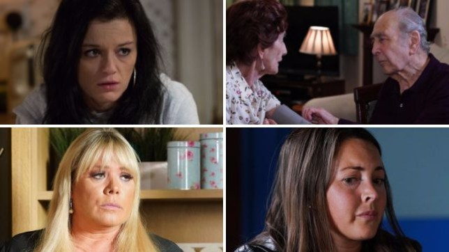 EastEnders spoilers for Hayley, Dot, Sharon and Stacey